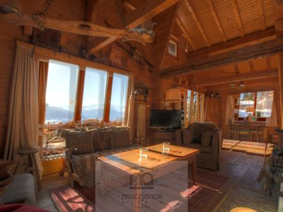 Photo for 4BR Chalet Vacation Rental in Anzère, Valais