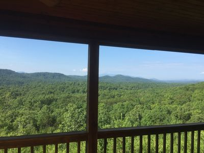 Photo for Our Amazing View Includes Mountains And Valleys As Far As The Eye Can See!
