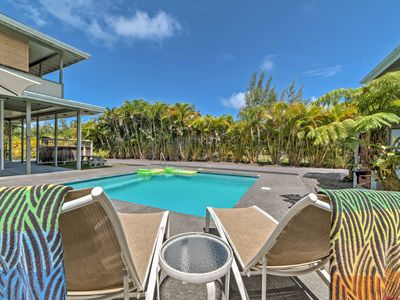 Photo for Romantic Keaau Studio w/Patio&Pool-1 Mi. to Coast