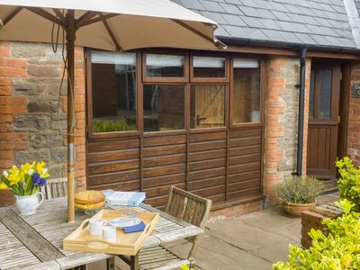 Photo for Cosy converted barn located between Wye Valley & Black Mts with stunning views