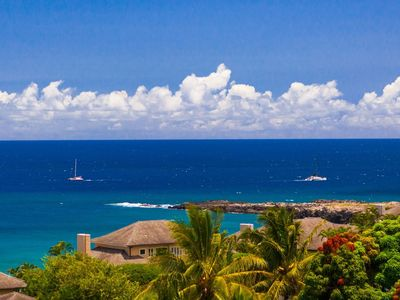 Photo for Enjoy a spacious floor plan with the tropical ocean views you have been looking for!