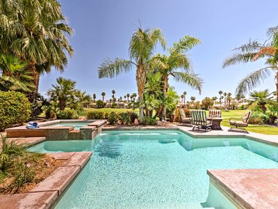 Photo for La Quinta Home on Golf Course w/Pool, Hot Tub
