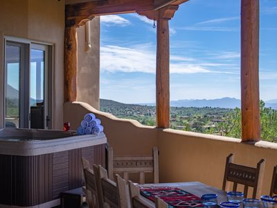 Photo for Spectacular views, hot tub, game room, one mile from the Plaza