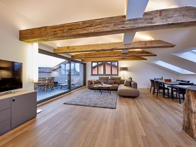 Photo for MODERN with FLAIR the TRADITION - ATTIC 86qm - 3 persons - ROOF TERRACE