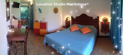 Photo for PRETTY STUDIO 2 Pers, SAINTE-ANNE, SEA OF THE CARIBBEAN 5 MN WITH FEET.