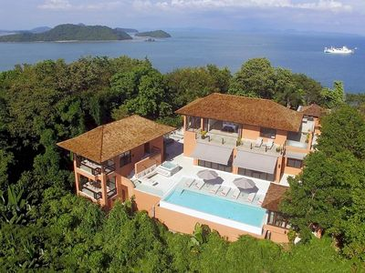 Photo for 8-Bed 360º Seaview Villa, Plus FREE $900 Daily Luxury Package included