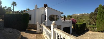 Photo for Beautiful 3 bedroom villa in Moraira 1.5 km from Portet beach