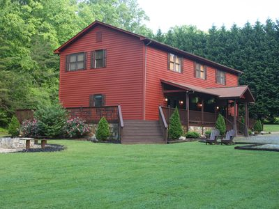 Photo for New Listing! Relaxing Large  Mountain Getaway Minutes from Helen