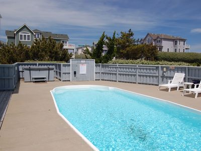 Photo for Beach Home Semi Ocean Front & Private Pool  - Just a Minute to the Beach!