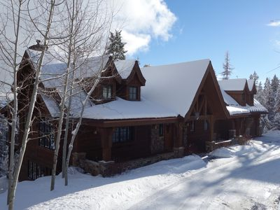 Photo for Ski-in/Ski-Out Home With Unbelievable Views Of Great Northern Mountain