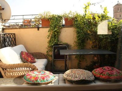 Photo for Apartment 273 m from the center of Rome with Internet, Air conditioning, Terrace, Washing machine (11139)