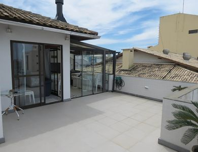 Photo for Penthouse with balcony / terrace with barbecue! At 30 meters Sea with pool!