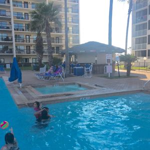 Beach Front Condo with 3 pools, 4 tennis Courts
