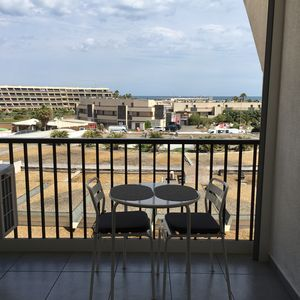 Photo for Nice Apartment Heliopolis naturist village cape d'Agde, sea view