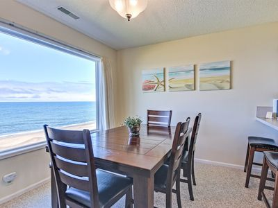 Photo for Oceanfront Condo Has Awesome Extras: Heated Pool, Sauna, Ping-Pong and More!