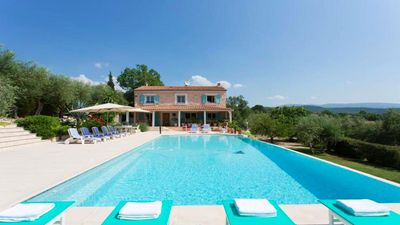 Photo for Villa with private pool (14m x 7m), 5 bedrooms,  jacuzzi, wifi, garden