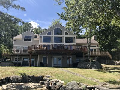 Photo for Fabulous Cow Island home, boat access only