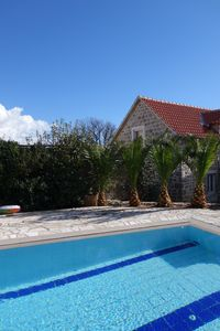 Photo for 6 bedroom Mediteranean Stone Villa with private pool, sea and mountain views