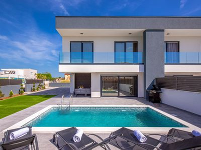 Photo for Modern Villa Maestral, in Dalmatia, with a Pool