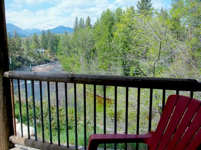 Photo for RiverSong Suites, Winthrop River-View, 2-Bdrm Apt