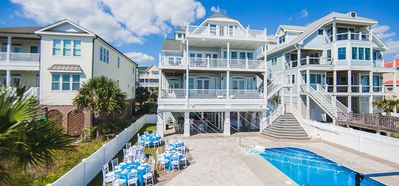 Photo for Oceanfront, 10 Bedrooms, Pool, Wedding Friendly