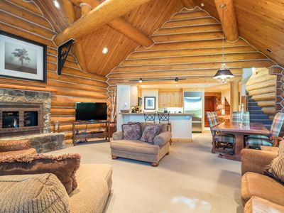 Photo for High end, custom designed 3 bedroom offers a truly luxurious mountain getaway