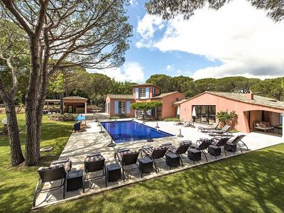 Photo for Le Cigalou - Villa for 11 people in Ramatuelle