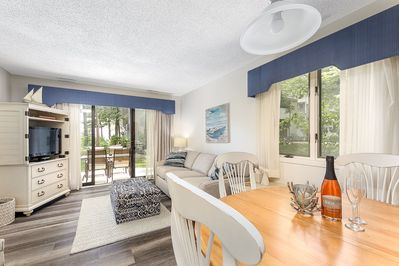 You'll love the views and privacy of this beachy condo.