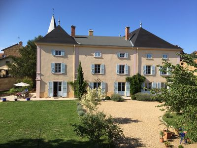 Photo for Welcome to our beautiful home in the heart of the Beaujolais.