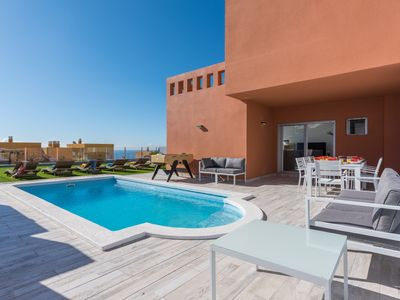 Photo for VILLA MARIO, OCEAN VIEW, HEATED POOL