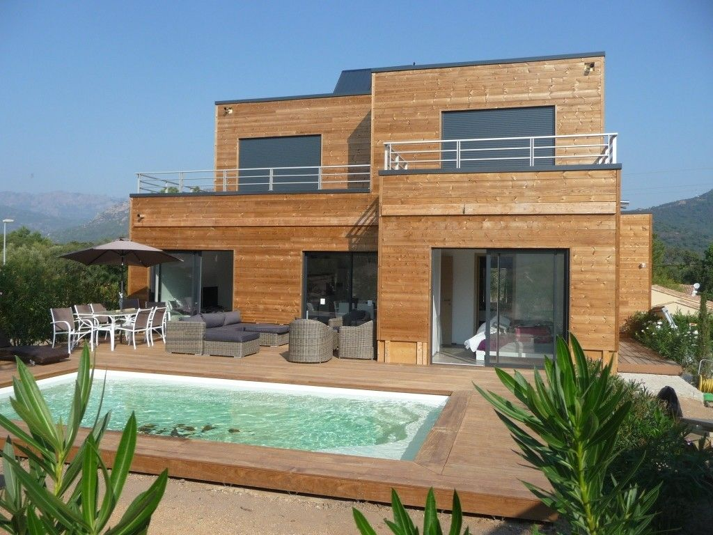 Luxury villa 9 pers heated pool spa and homeaway for Tour a bois maison