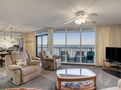 Photo for Sea Gull #704: Beachfront 2 Bedroom 2 Bathroom With Spectacular Views and 24 Hour Management