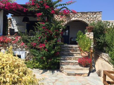 Photo for Beautiful stone maisonette near the beach, ideal for families and groups