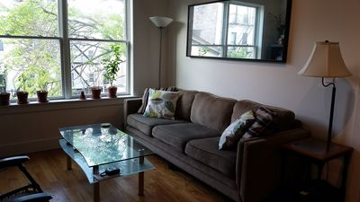 Photo for Bright clean 2BR condo in Downtown Jersey City, Just Minutes to NYC