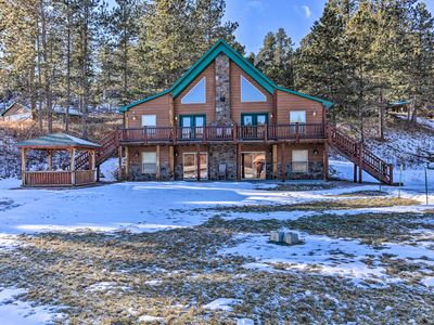 Photo for NEW! Cabin w/ On-Site Trails, 15Mi to Mt Rushmore!