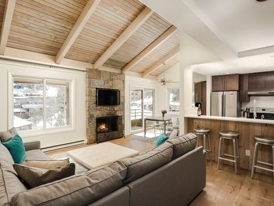 Photo for Stylish Snowmass Ski Condo -- Sun & Views