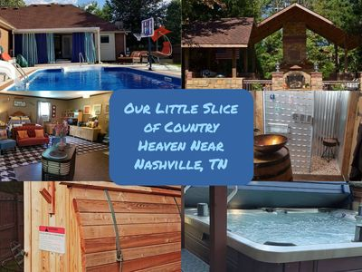 Photo for Our Little Slice of Country Heaven Near Nashville, TN
