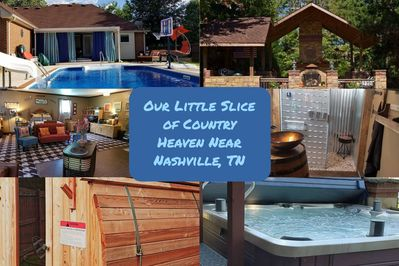 A piece of country heaven to rest, recharge, and simply enjoy the company of your friends and family while on vacation!  We are about making lasting memories!