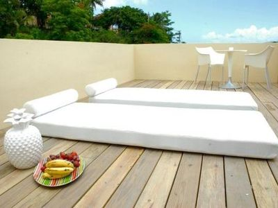 Rooftop Sunbathing Area