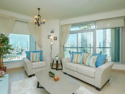 Photo for 2BR with Incredible Burj Khalifa