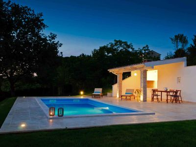 Photo for Elegant villa with private pool  not far from Porec beaches!