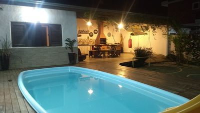 Photo for Beautiful house, upscale, great location, 30m from the beach