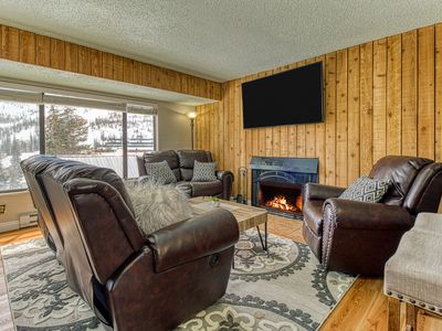 Photo for Updated condo w/ a shared hot tub & sauna - close to skiing & other adventures