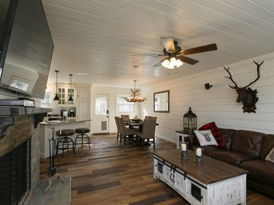 Photo for Lazy Bear Lodge (4BR/3BA) Minutes to hiking/biking & Only 12 mins DT Asheville!