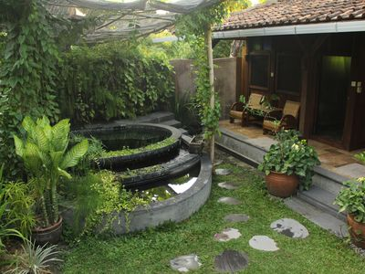 Photo for Single Room, with shared dipping pool, in an Antique Bungalow