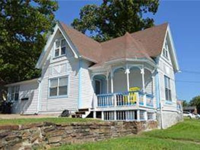 Photo for Bedroom in 2BR Victorian near University of Arkansas, Nature Trail and Park!