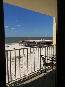 Photo for BEACH condo with Balcony 2bedroom 2baths. No minimum nights stay.  Sleeps 6🌴⛱ 🐬