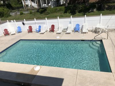 Photo for JUST REMODELED! 8 Bedroom  W/ Private Pool & hot tub Just Across from best beach