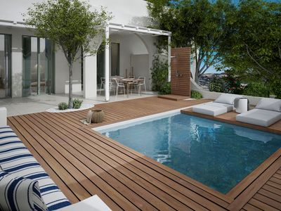 Photo for R849 Master Suite Garden View with Private Pool Breakfast Included