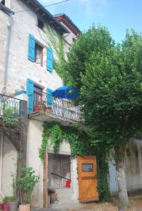 Photo for 16th Century House Plus Studio Flat in Gorgeous French Village